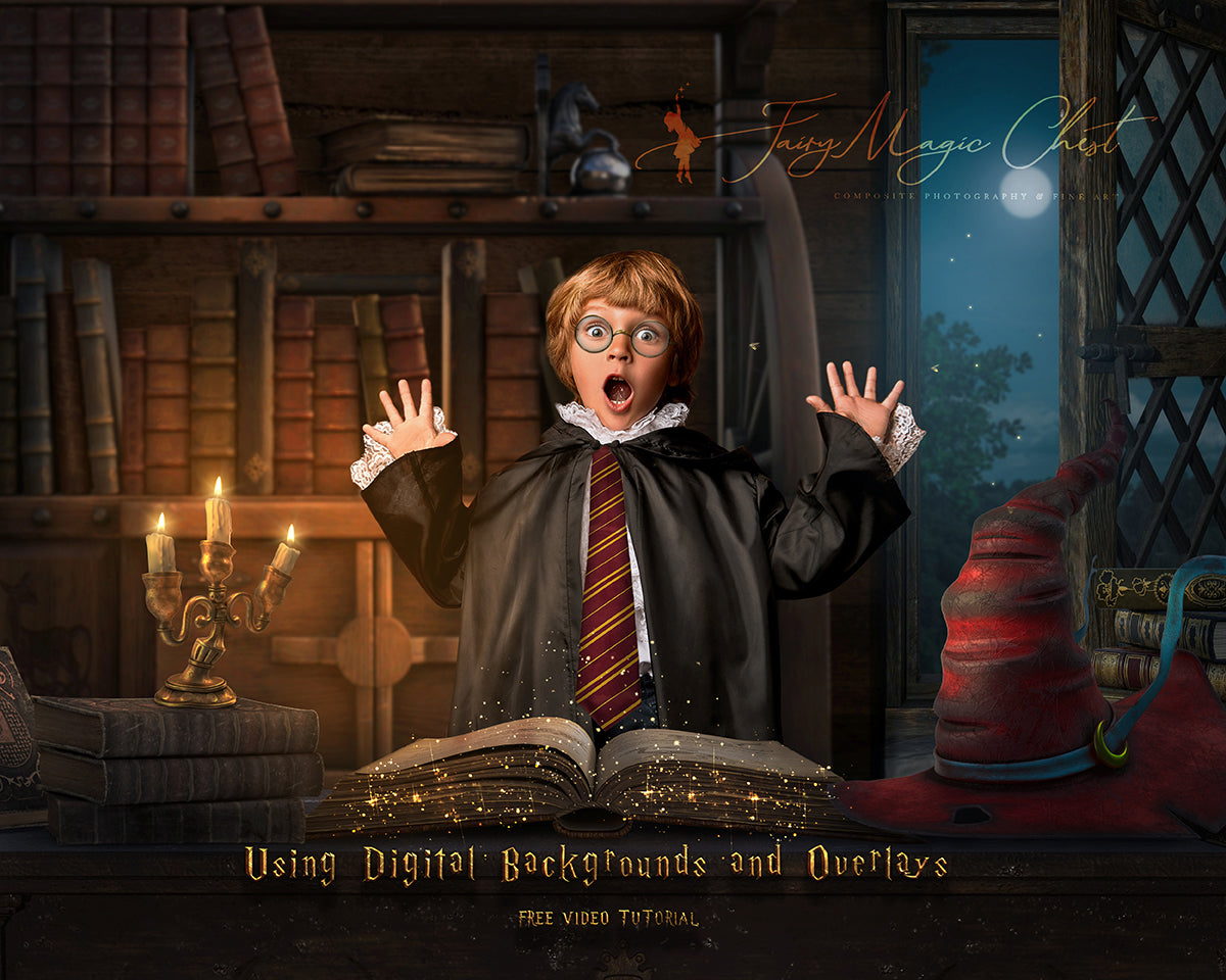Video tutorial Xomposite Photography Harry Potter