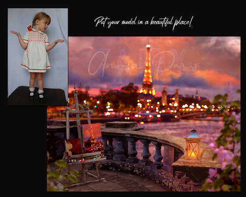 Composite photography Anrusa Paris