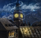 Digital background / backdrop London , roof , Peter Pan inspired