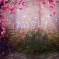 anrusa-paris-fairy-magic-chest - Spring and Summer digital backdrop / background , pink flowers - Anrusa Paris & Fairy Magic Chest - digital background / backdrop