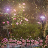 Fairy digital background by Fairy Magic Chest