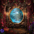 anrusa-paris-fairy-magic-chest - Snow White Mirror digital background / backdop - Anrusa Paris & Fairy Magic Chest - digital background / backdrop