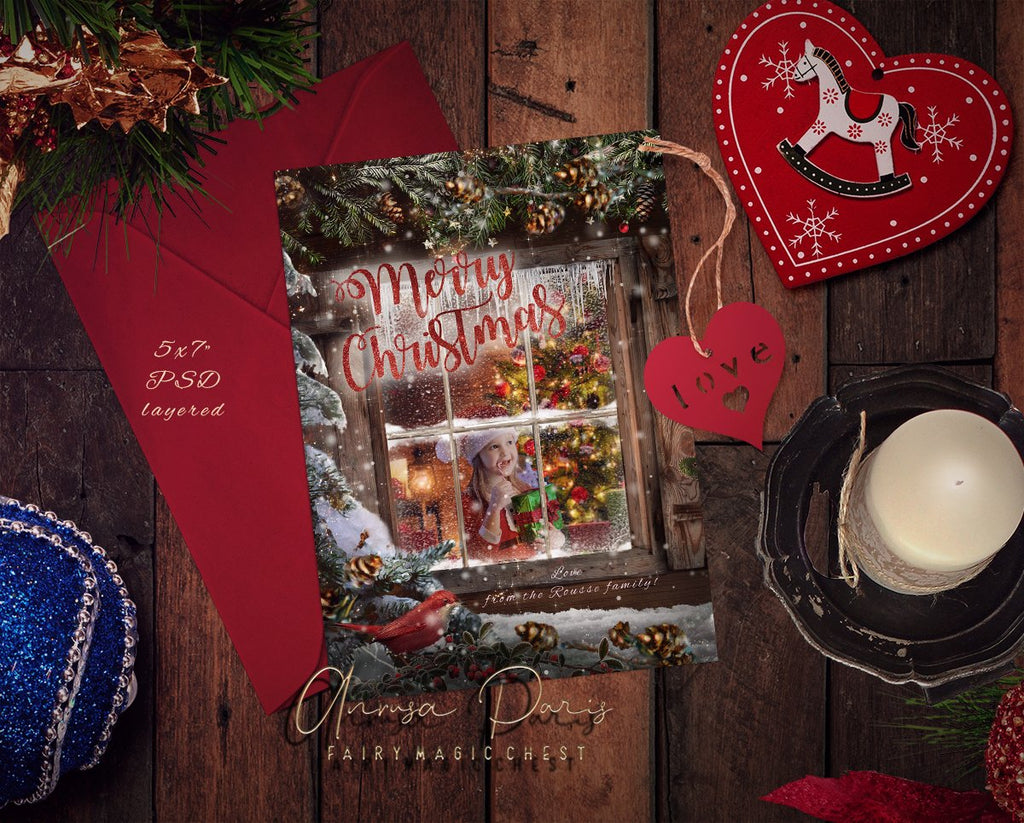 anrusa-paris-fairy-magic-chest - Christmas Card template - Fairy Magic Chest & Anrusa Paris - Template