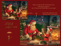 Santa Claus with SnowGlobe digital backdrop , LAYERED PSD , Snow globe digital backdrop / background