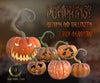 PUMPKINS png Overlays , Jack o'lantern - Fairy Magic Chest
