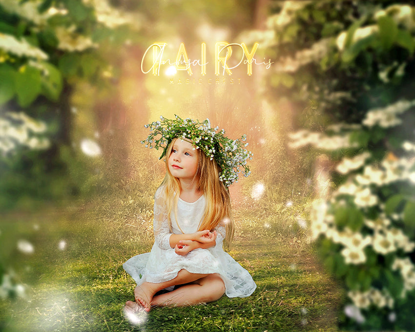 anrusa-paris-fairy-magic-chest - White flowers digital background / backdrop , spring, summer - Anrusa Paris & Fairy Magic Chest - digital background / backdrop