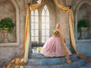 Digital backdrop / background , Princess alcove , big window , long drapes, medieval room perfect for princess like Rapunzel, bride, wedding