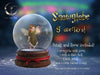 Snowglobe png overlay , 6 snowglobes, 2 snow overlays and 1 petals overlay