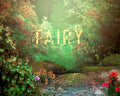 anrusa-paris-fairy-magic-chest - Digital background pond on creamy forest, painterly style - Fairy Magic Chest & Anrusa Paris - digital background / backdrop