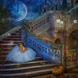 anrusa-paris-fairy-magic-chest - Cinderella with mice and pumpkin digital backgound / backdrop - Anrusa Paris & Fairy Magic Chest - digital background / backdrop