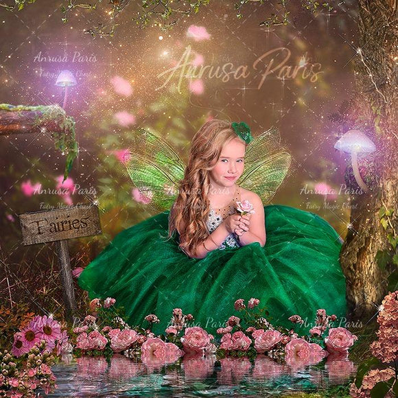 Digital background / backdrop for fairy by Anrusa Paris