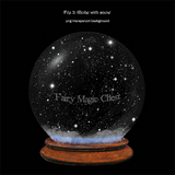 Snow Globe overlay by Anrusa Paris