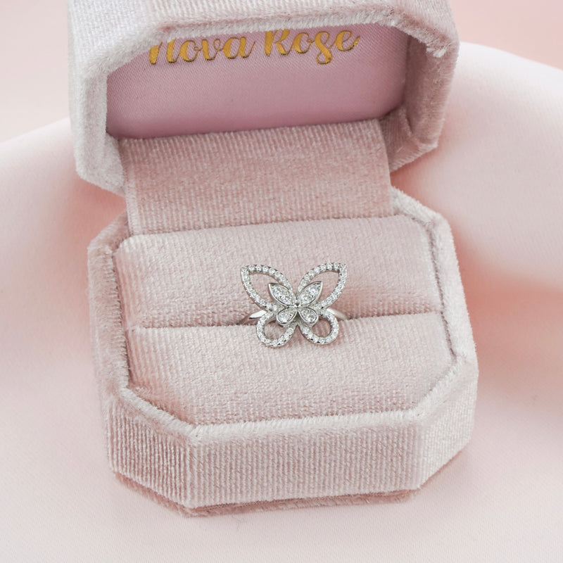 """Made to fly"" Ring"