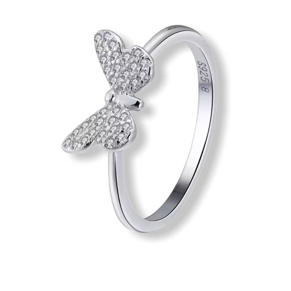 Mini mariposa ring