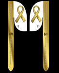 CHILDHOOD CANCER AWARENESS SILKY