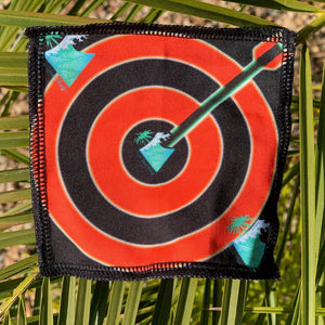 BULLS EYE CROWN PATCH SILKY