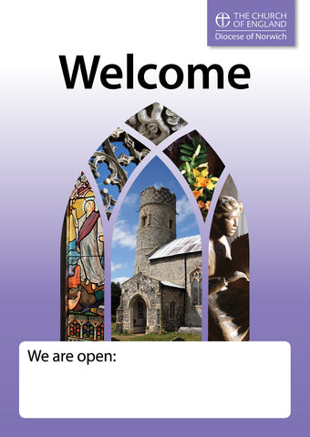 Open Church Poster