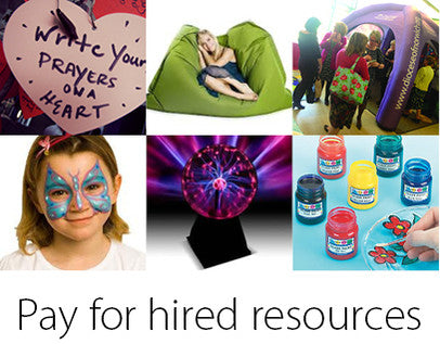 Pay for hired resources