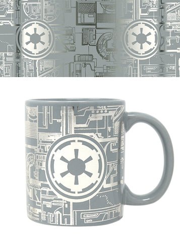 Star Wars (Death Star Surface) Foil Mug