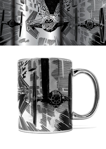 Star Wars (TIE Attack) Metallic Mug