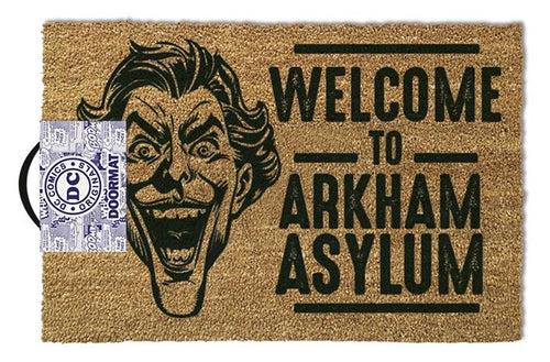 The Joker (Welcome To Arkham Asylum) Doormat 40 x 60cm