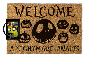 The Nightmare Before Christmas (A Nightmare Awaits) Doormat 40 x 60 cm