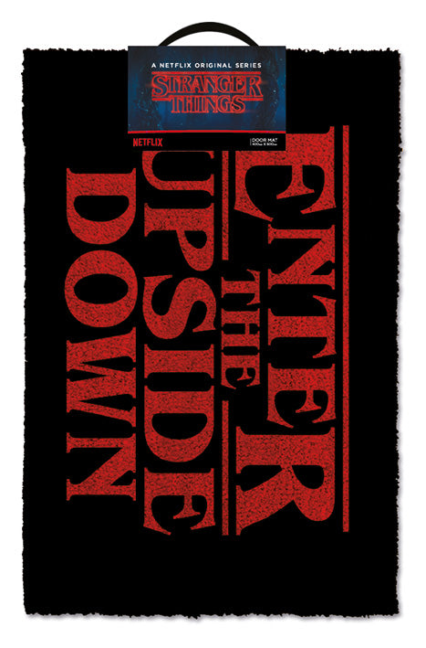Stranger Things (Enter The Upside Down)  Doormat 40 x 60cm