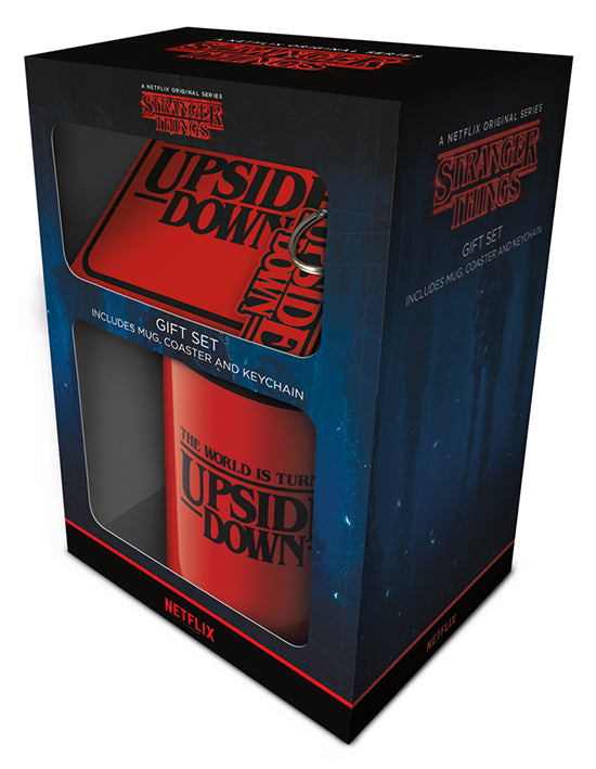 Stranger Things (The World Is Turning Upside Down) Gift Set