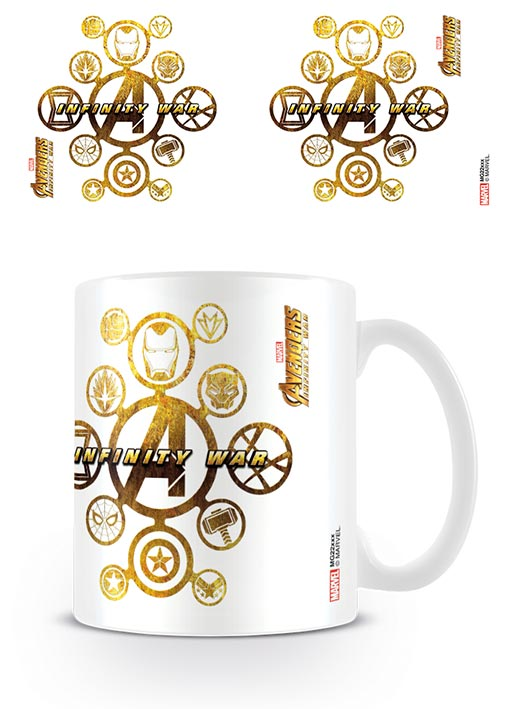 Avengers: Infinity War (Connecting Icons) Coffee Mug