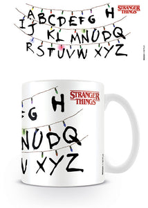 Stranger Things (Christmas Lights) Coffee Mug