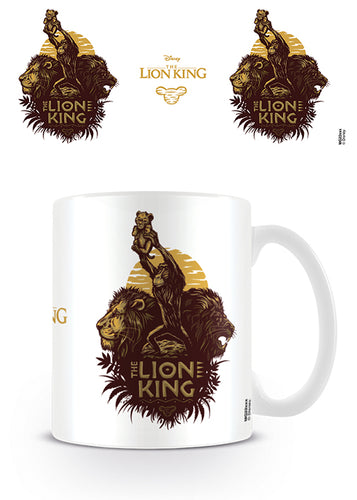 The Lion King Movie (A Future King Is Born) Coffee Mug
