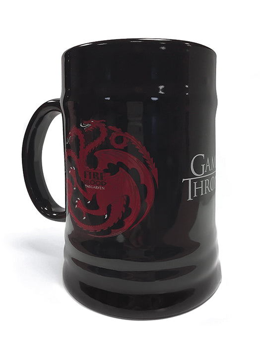 Game of Thrones (House Targaryen)  Ceramic Stein - ONLY 1 LEFT
