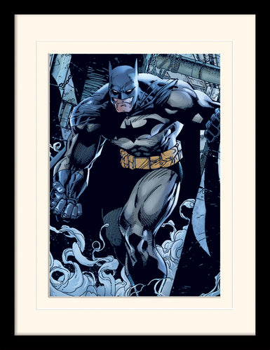 Batman (Prowl)  Mounted & Framed 30 x 40cm Print
