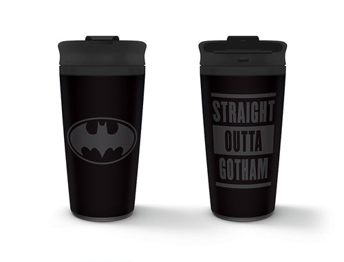 Batman (Straight Outta Gotham) Metal Travel Mug