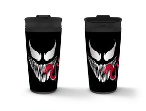 Venom (Face)  Metal Travel Mug