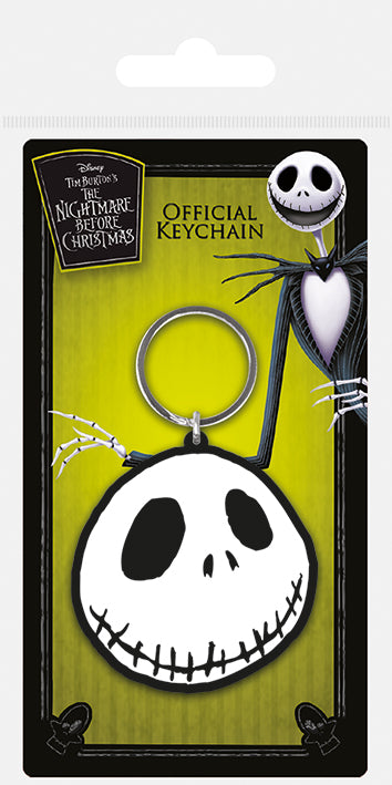 The Nightmare Before Christmas (Jack) Rubber Keychain
