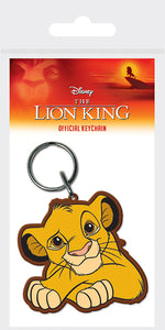 The Lion King (Simba) Rubber Keychain