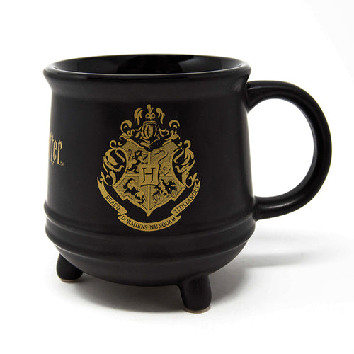 Harry Potter (Hogwarts Crest) Ceramic Cauldron Shaped Mug