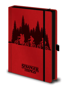 Stranger Things (Upside Down) Premium A5 Notebook