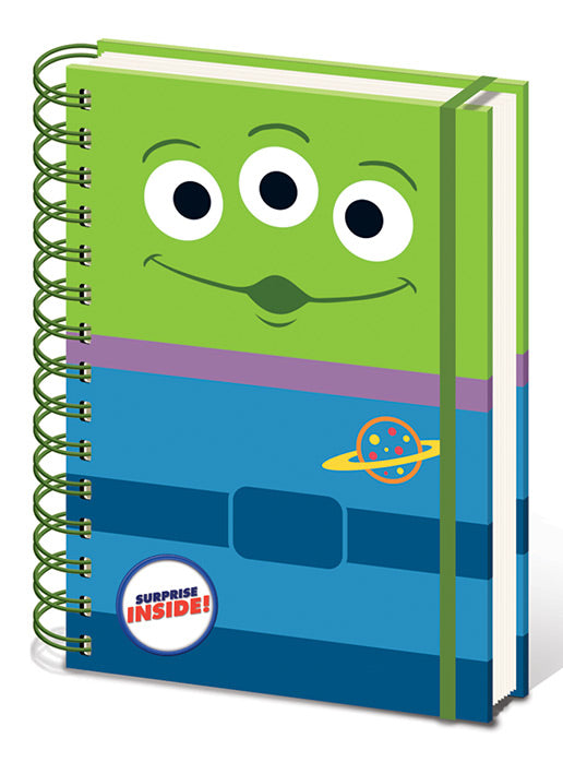 Toy Story (Alien)  A5 Wiro Notebook