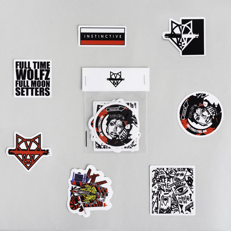 Wolfcream Sticker Pack - instinctive.ro