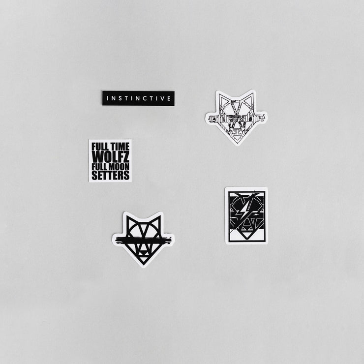 Wolfsauce Sticker Pack - instinctive.ro