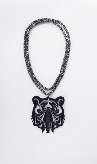 Wolftiger Chain Necklace - instinctive.ro