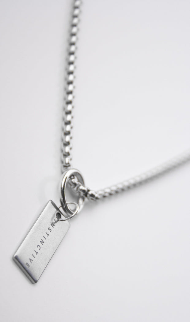 Instinctive Tag Necklace - instinctive.ro