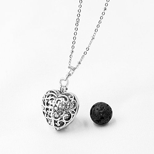Heart Locket Pendant - KnowingSpirit