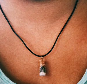 Mini Spell Bottle pendant - KnowingSpirit