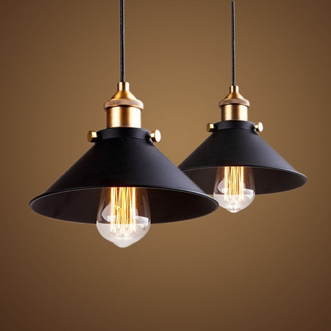 Lampe Vintage - Suspension Style Industriel