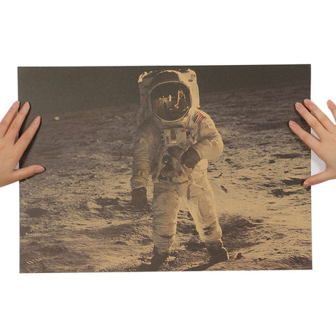 Poster Vintage - Neil Armstrong