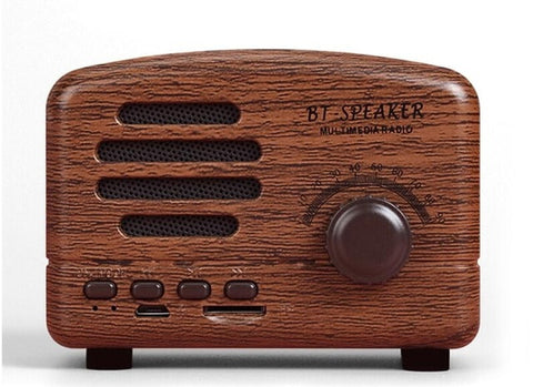 Mini Enceinte Portable Vintage Bluetooth