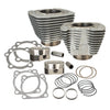 S&S 883 SPORTSTER 1200 BIG BORE CONVERSION KIT SILVER